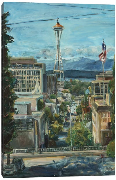 Needle from the Hill Canvas Art Print