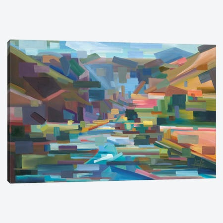 Pieces Of Yakima Canyon 3-Piece Canvas #BBO7} by Brooke Borcherding Canvas Artwork