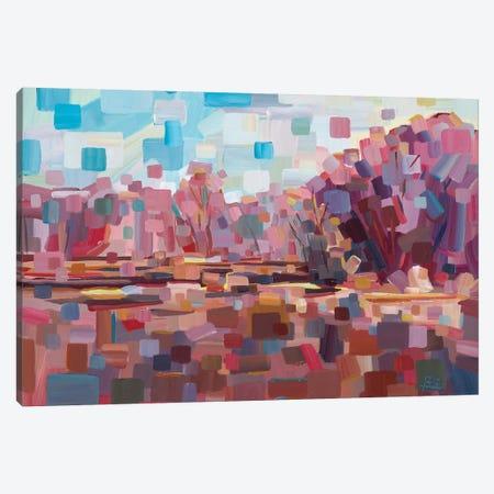 Pretty In Pink Canvas Print #BBO8} by Brooke Borcherding Canvas Art Print