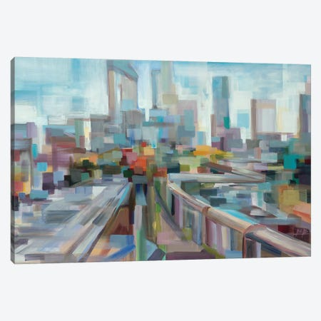 Afternoon Over the Highway Canvas Print #BBO9} by Brooke Borcherding Canvas Art Print