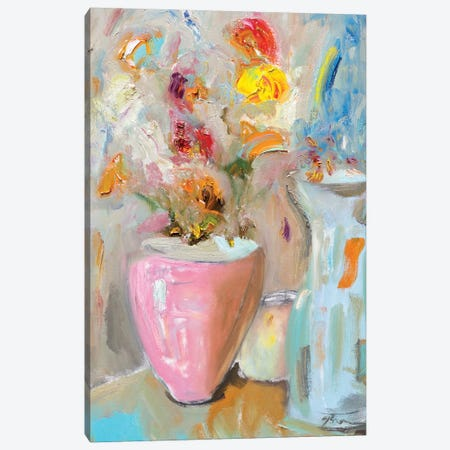 All About the Vase Canvas Print #BBR14} by Bradford Brenner Canvas Art
