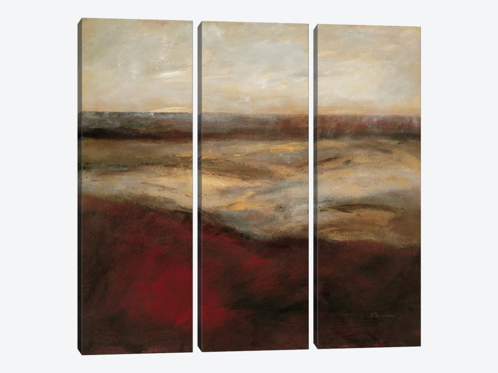 Dunes Of Brighton I by Bradford Brenner 3-piece Art Print
