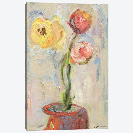 Buds of Youth Canvas Print #BBR23} by Bradford Brenner Canvas Art