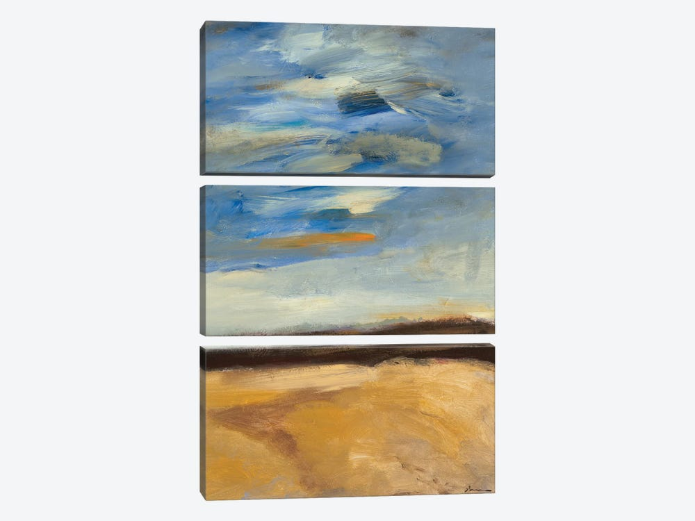 Cloudscape I by Bradford Brenner 3-piece Canvas Wall Art