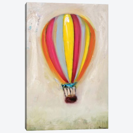 Lucky Hot Air Balloon Canvas Print #BBR38} by Bradford Brenner Canvas Art Print