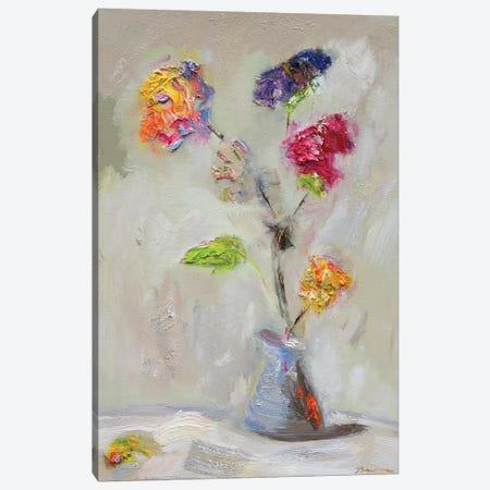 Neoplitan Floral Canvas Print #BBR39} by Bradford Brenner Canvas Print