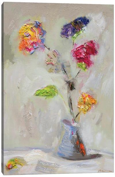 Neoplitan Floral Canvas Art Print