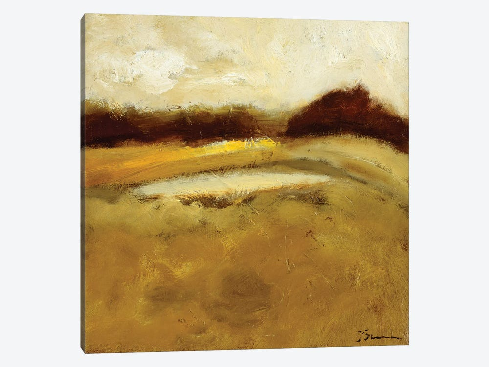Amidst The Fields I by Bradford Brenner 1-piece Canvas Print