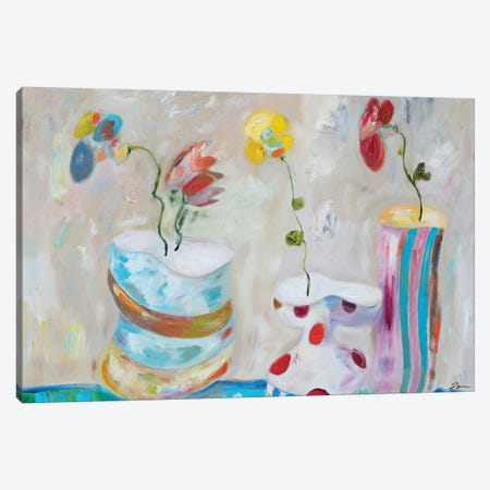 Play Time 3-Piece Canvas #BBR42} by Bradford Brenner Canvas Art