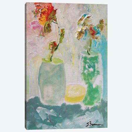 Tahitian Sunrise Canvas Print #BBR47} by Bradford Brenner Canvas Art Print