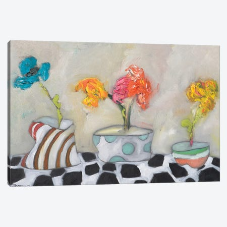 Three Amigos Canvas Print #BBR51} by Bradford Brenner Canvas Art Print