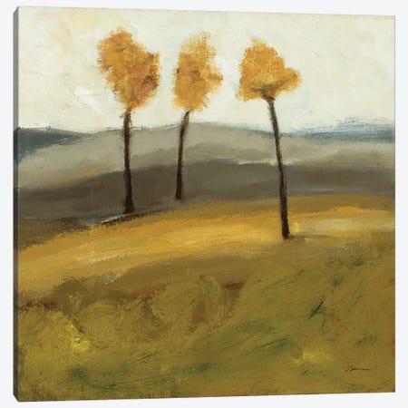 Autumn Tree II 3-Piece Canvas #BBR5} by Bradford Brenner Canvas Art