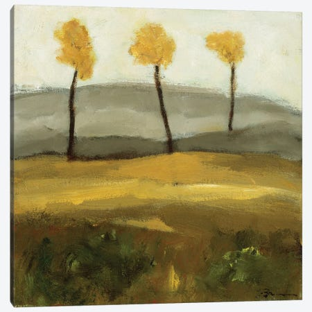 Autumn Tree III 3-Piece Canvas #BBR6} by Bradford Brenner Canvas Wall Art