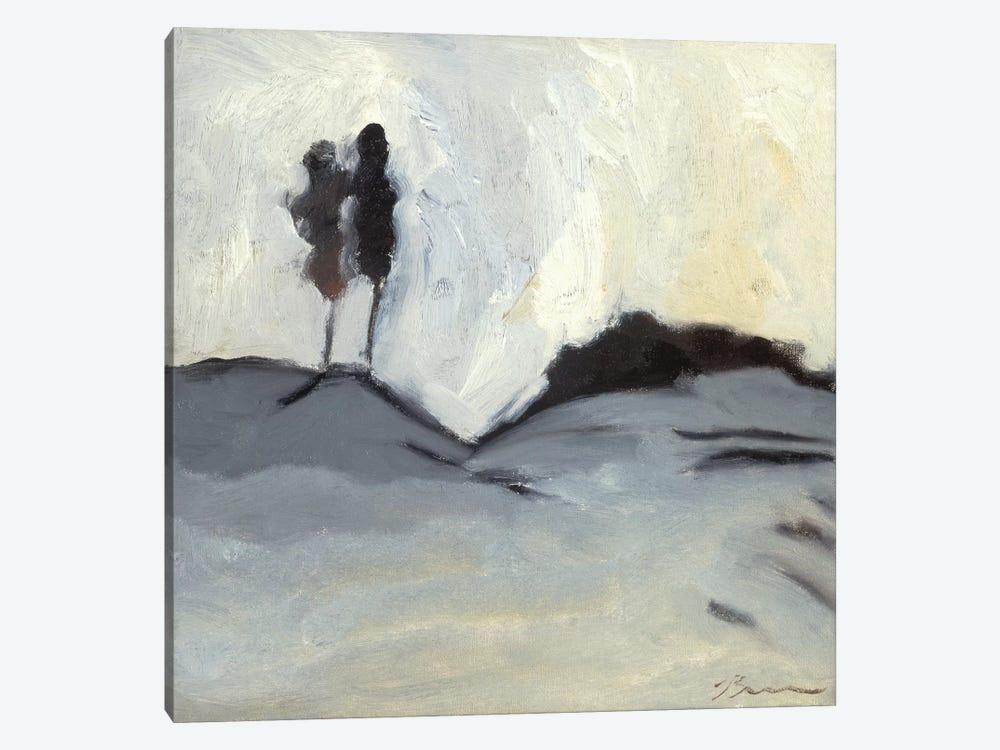Winter Dance I by Bradford Brenner 1-piece Canvas Art Print
