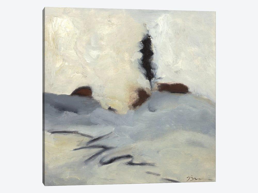Winter Dance II by Bradford Brenner 1-piece Canvas Wall Art