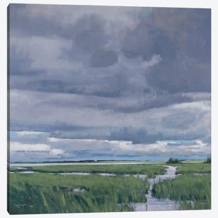 May Storm Over Glacier Lake MN Canvas Print #BBU31} by Ben Bauer Canvas Wall Art