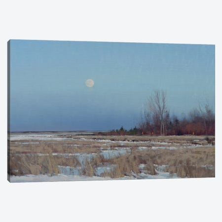 Minnesota Fall Landscape Canvas Print #BBU32} by Ben Bauer Canvas Wall Art