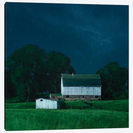 On Arcola Mills Canvas Print #BBU39} by Ben Bauer Canvas Wall Art