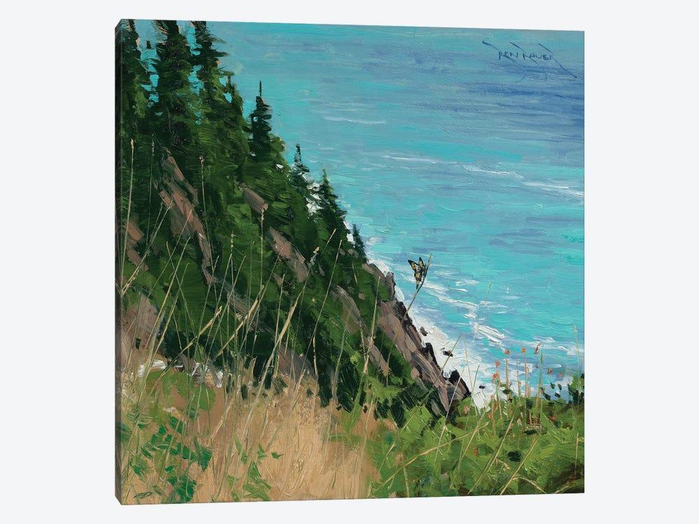 Oregon Coast by Ben Bauer 1-piece Canvas Artwork