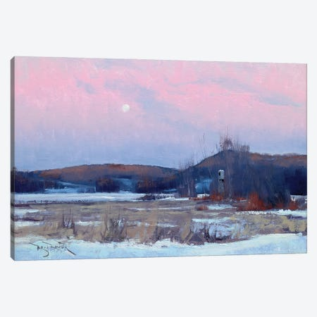 Soft Morning Canvas Print #BBU53} by Ben Bauer Canvas Artwork