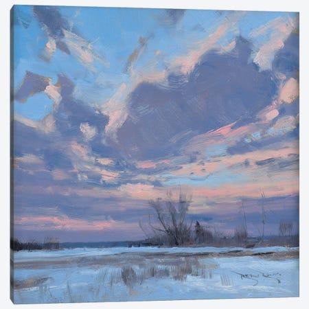 Sunrise Outside Of Menomonie WI Canvas Print #BBU60} by Ben Bauer Canvas Art Print