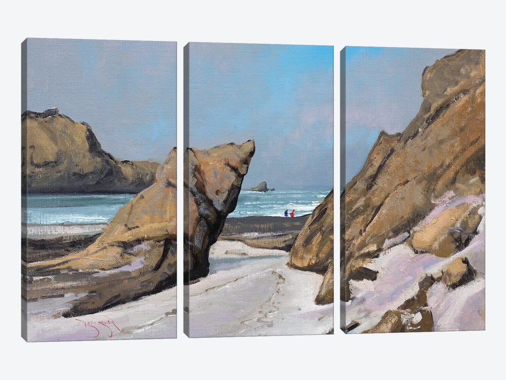 Big Sur Morning by Ben Bauer 3-piece Art Print