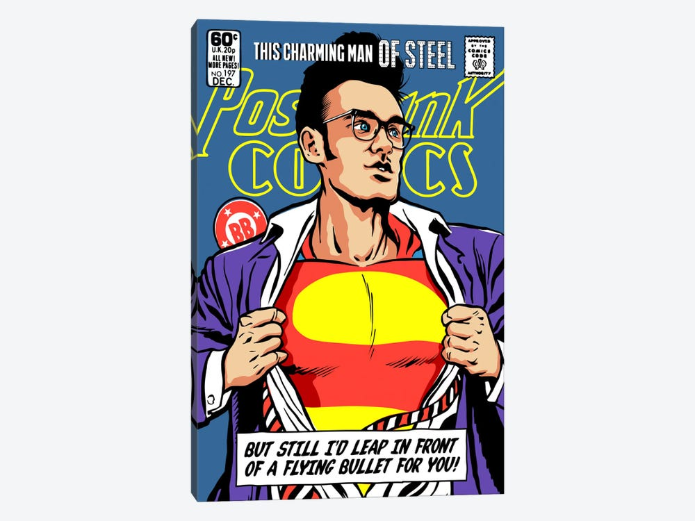 Post-Punk Super by Butcher Billy 1-piece Canvas Wall Art