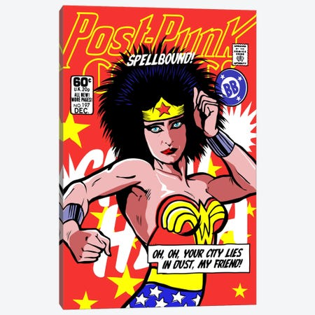 Post-Punk Wonder Canvas Print #BBY102} by Butcher Billy Canvas Wall Art