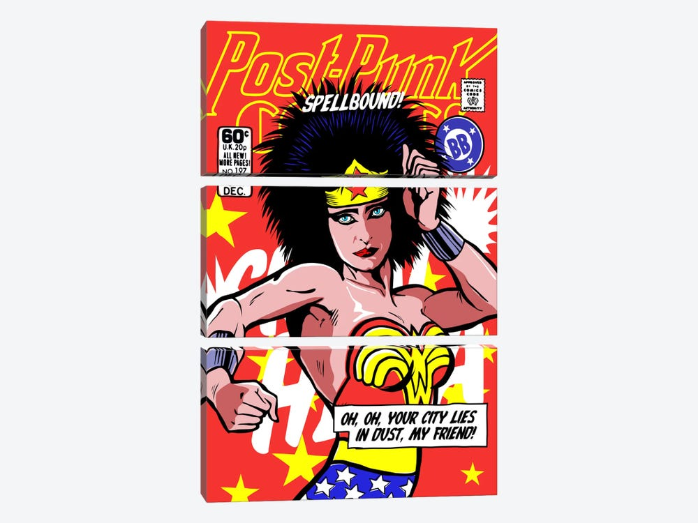 Post-Punk Wonder by Butcher Billy 3-piece Art Print