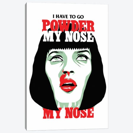 PowderMyNose Canvas Print #BBY103} by Butcher Billy Canvas Art