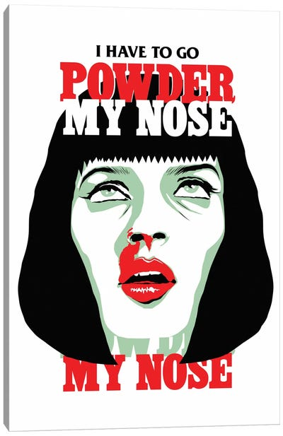 PowderMyNose Canvas Art Print
