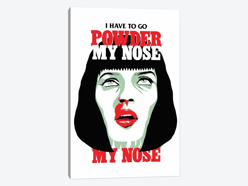 PowderMyNose by Butcher Billy 1-piece Canvas Wall Art