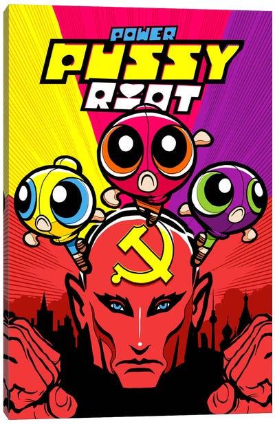Power Pussy Riot Canvas Art Print