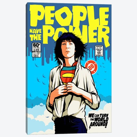 Power To The People Canvas Print #BBY105} by Butcher Billy Canvas Art Print