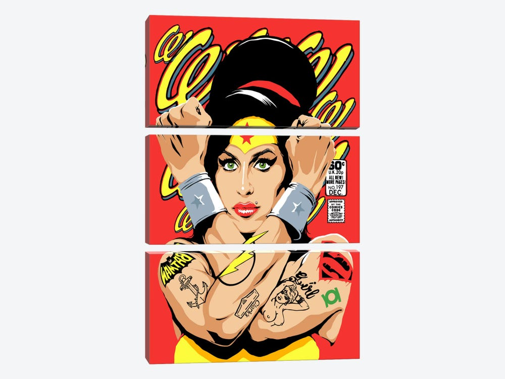 Rehab Wonder by Butcher Billy 3-piece Canvas Artwork