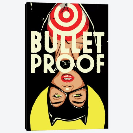 Bulletproof Canvas Print #BBY10} by Butcher Billy Canvas Artwork