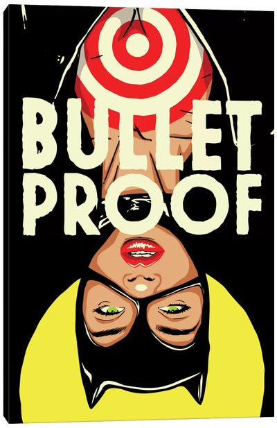 Bulletproof Canvas Art Print
