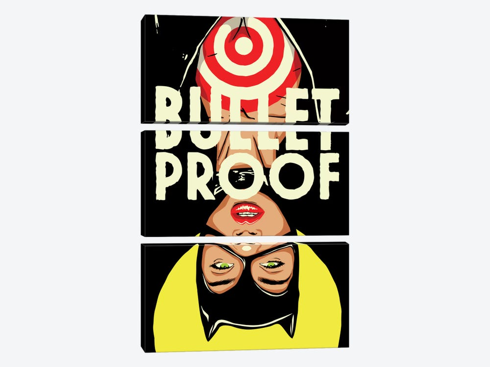 Bulletproof by Butcher Billy 3-piece Canvas Art