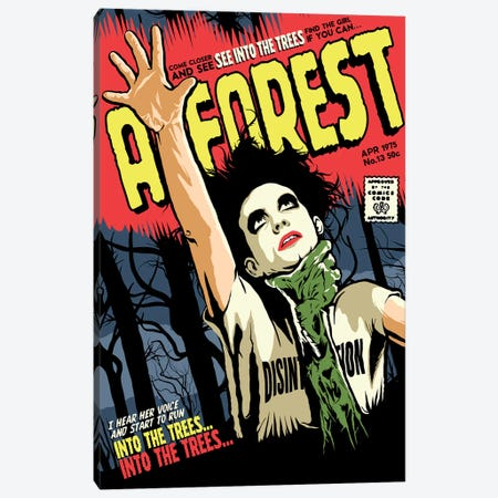 A Forest Canvas Print #BBY110} by Butcher Billy Canvas Art Print