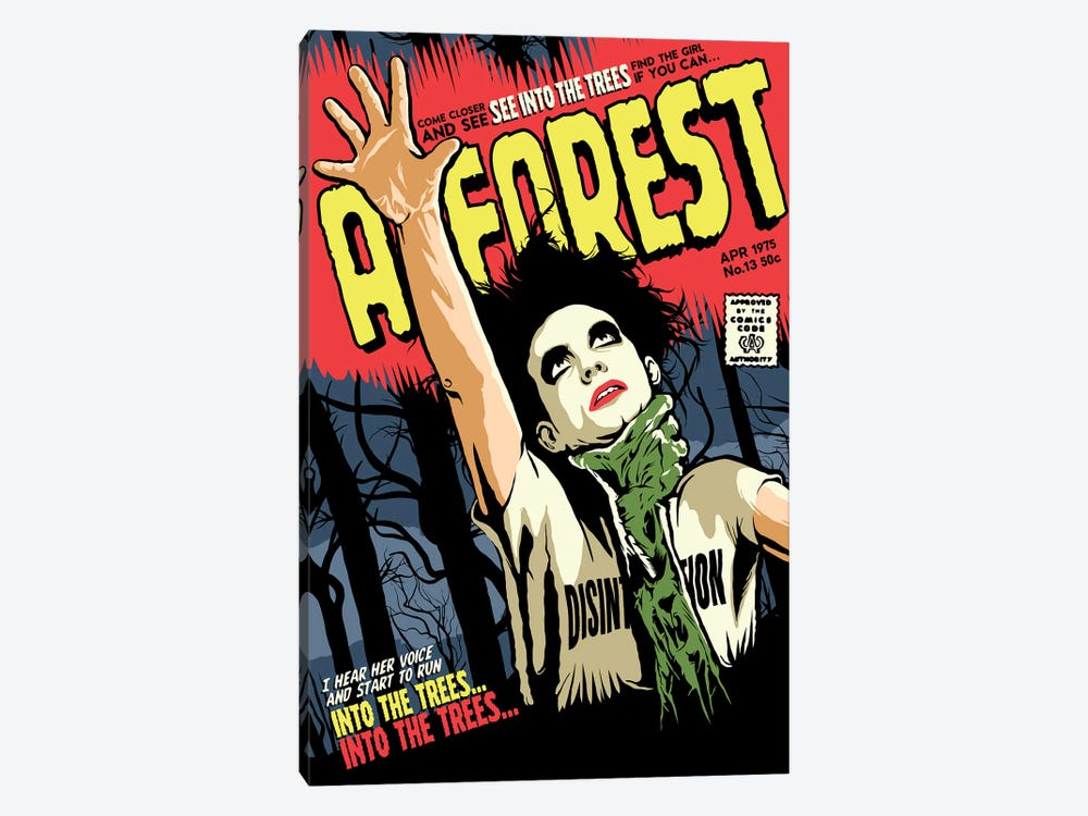 A Forest by Butcher Billy 1-piece Canvas Artwork