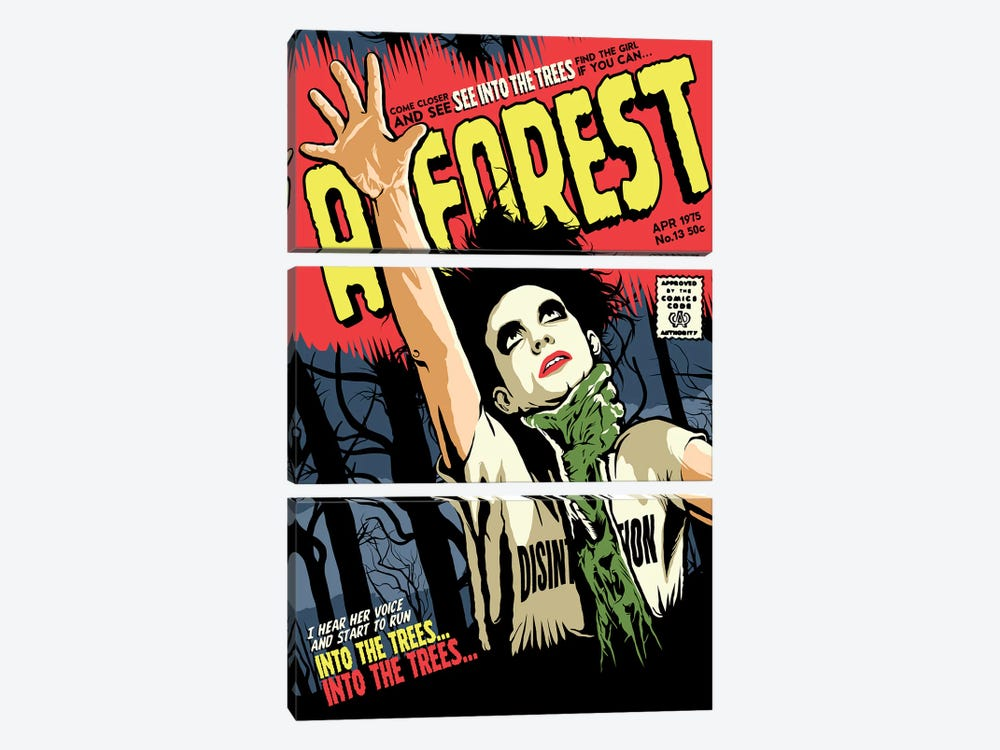 A Forest by Butcher Billy 3-piece Canvas Art