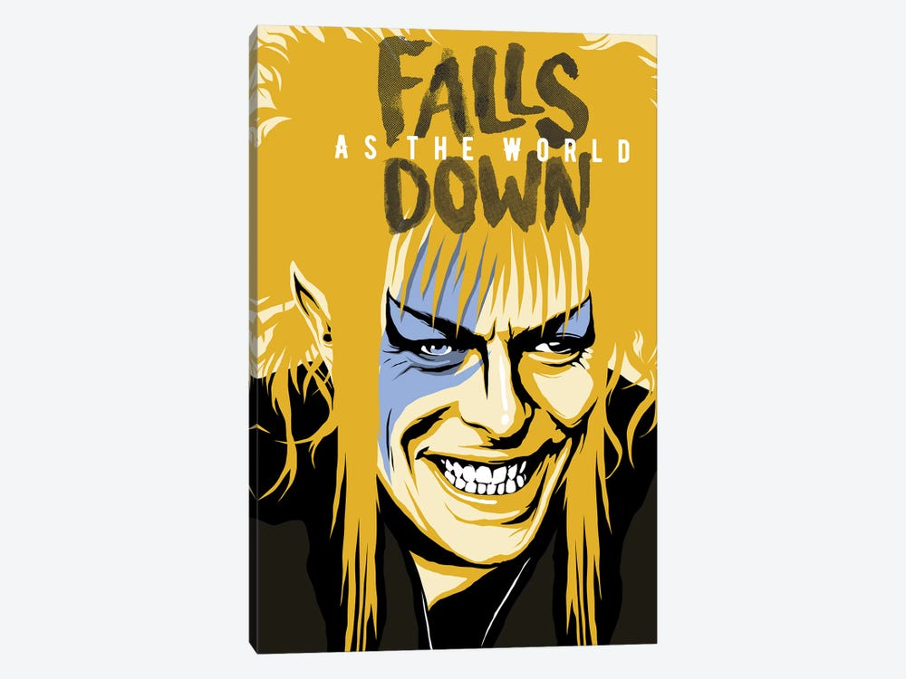 As The World Falls Down by Butcher Billy 1-piece Canvas Print