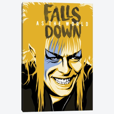 As The World Falls Down Canvas Print #BBY111} by Butcher Billy Canvas Print