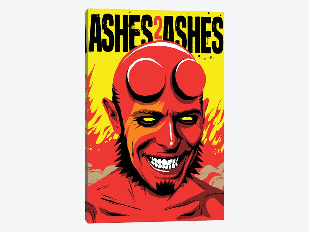 Ashes To Ashes by Butcher Billy 1-piece Canvas Wall Art