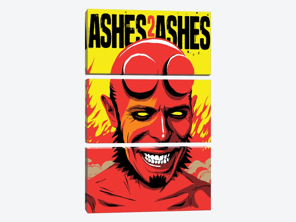 Ashes To Ashes by Butcher Billy 3-piece Canvas Art