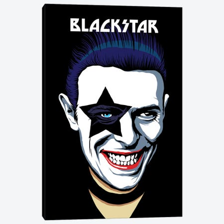 Black Star Canvas Print #BBY113} by Butcher Billy Canvas Print