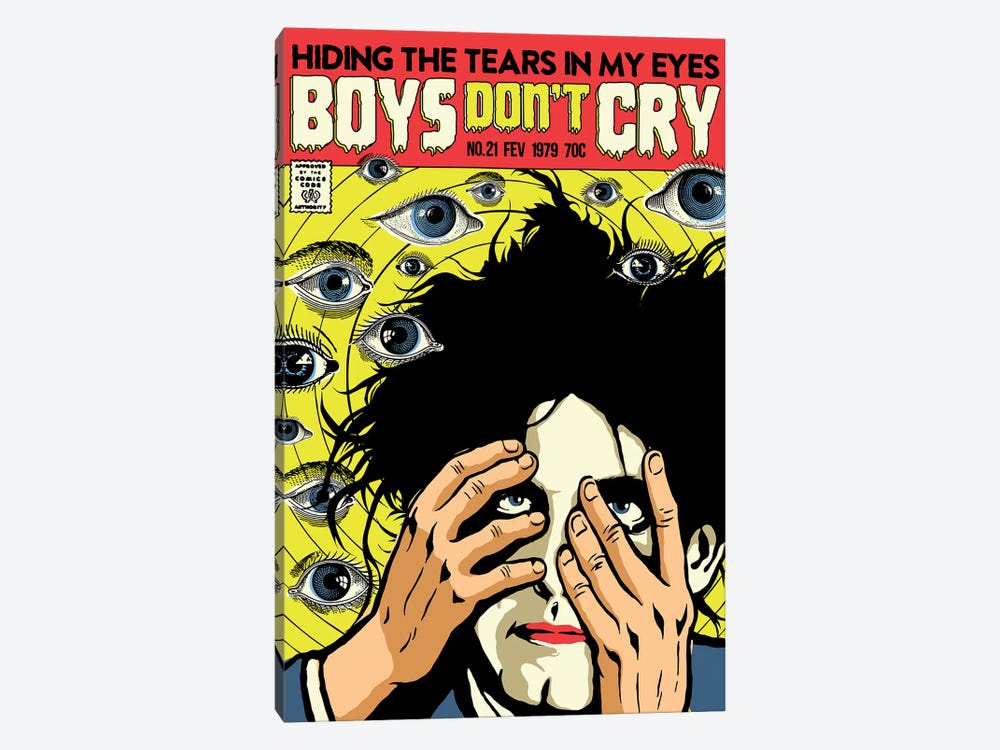 Boys Don't Cry by Butcher Billy 1-piece Canvas Artwork
