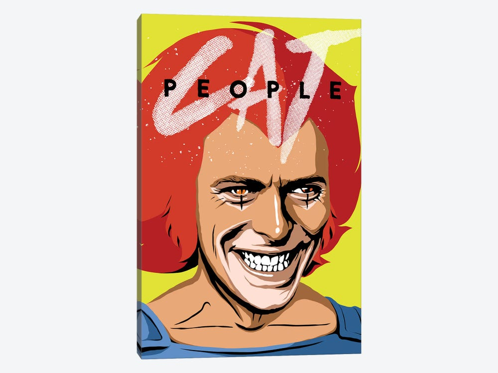 Cat People by Butcher Billy 1-piece Canvas Print