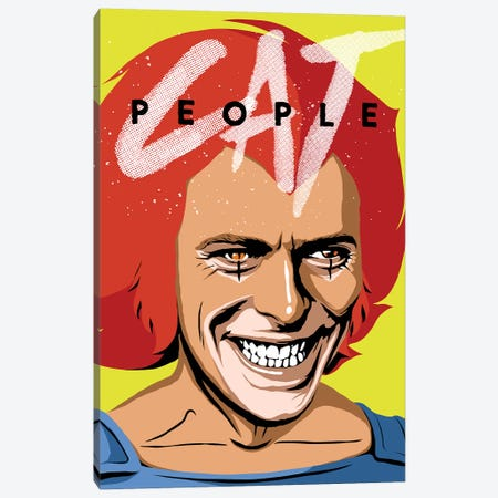Cat People Canvas Print #BBY115} by Butcher Billy Canvas Wall Art