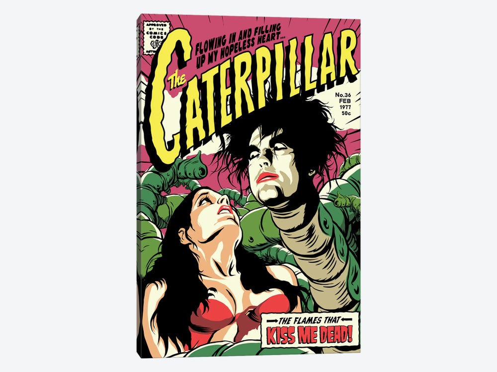 Caterpillar by Butcher Billy 1-piece Canvas Artwork